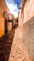 Alamos, Mexico. Callejon del beso. by Gagaphone