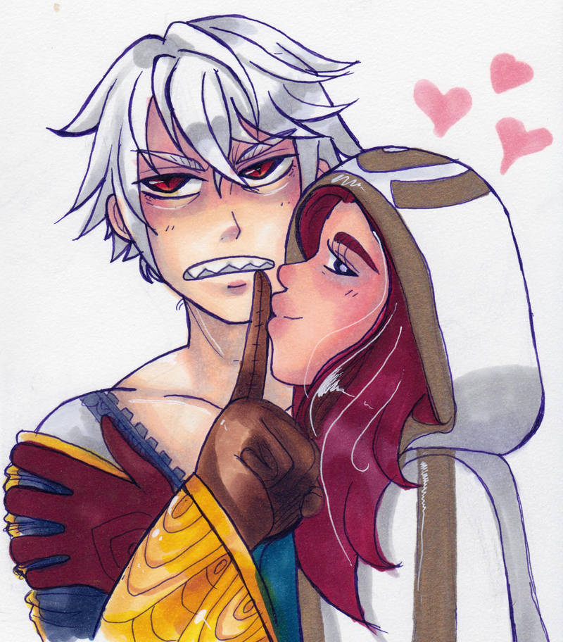 im thirsty for grima by KearaLemon
