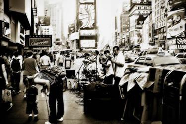 Times Square by DalaiLomo