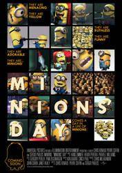 Minions' Day Poster by Alecx8