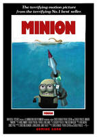 Minion - Jaws Poster by Alecx8