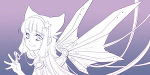 Wings - Eos - Outlines by KishiShiotani