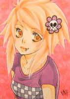 No.40 - Emo Girl 2 by KishiShiotani