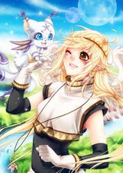 Hanabira x Harpyia by KishiShiotani