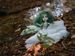 Halloween special doll Rusalka the Water Ghost by Magic-by-Mie