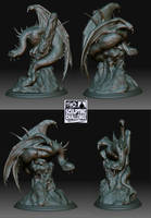 fell beast sculpt 2 by mrpeculiar