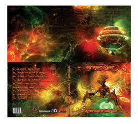 Alternate Worlds - Digipak Layout by mrpeculiar