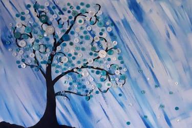 Button Tree by Kathleensadventure