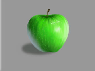 Green Apple by ugotrabs