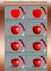 Red Apple Tutorial by ugotrabs