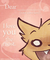 2011 Valentine I Love You All by gabapple