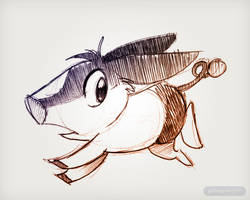 Tumblr Tepig by gabapple