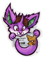 Nido Clingy Badge by gabapple