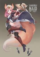Samurai Maid by ALAGANTM