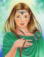 Celtic Elf by EmeraldIsleElf
