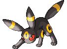 Crouching Umbreon by antialiasis