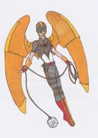 Ultimated DC:Hawkman by Darkchylde7