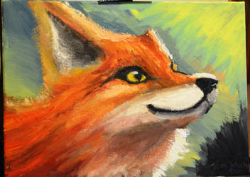 Fur of Fire, Eyes of gold. by InkedOnyx