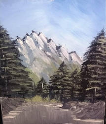 Nature Painting #1 by InkedOnyx