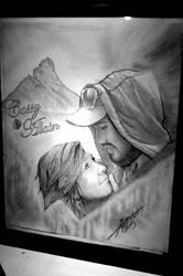 Couple Portrait - Cassy and Alain by InkedOnyx