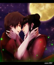 Zuko and Mai: Fireflies by annria2002