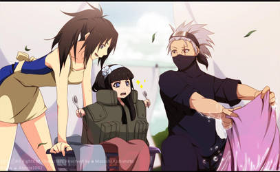 Hatake Family: Laundry day by annria2002
