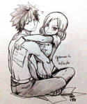 Gruvia doodle by annria2002