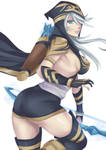 LoL Ashe by Exaxuxer