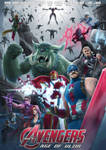 League of Avengers Age of Ultzir by Exaxuxer