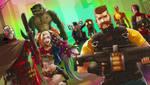 Suicide squad X League of Legend by Exaxuxer