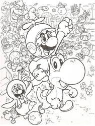 New Super Mario Bros. Wii by mattdog1000000