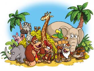 Donkey Kong Country Returns by mattdog1000000