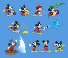 Mickey Mouse Super Smash Bros. by mattdog1000000