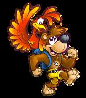 Banjo-Kazooie by mattdog1000000