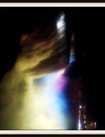 Falling Rainbow Water by Rainbow826