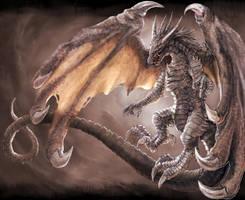 Flying Dragon by geripon