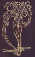 necromech reaper type by pinoypencilpundit