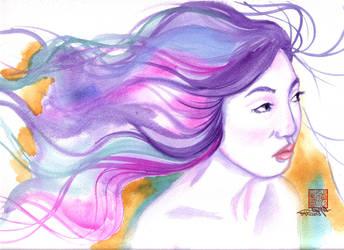 Angelica Ferrer by pinoypencilpundit