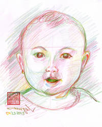 Emma Rose Quick Sketch by pinoypencilpundit
