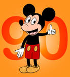 Mickey Mouse Turns 90 by C5000-MakesStuff