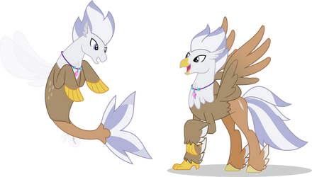 Silver Quill - Show Style by MLP-TrailGrazer