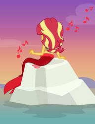 The Siren Song of Sunset by MLP-TrailGrazer