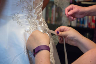 Lacing the Dress by MMoreland