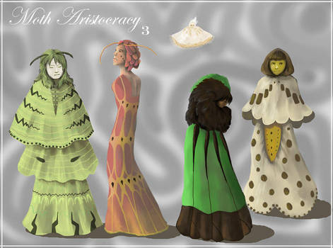 Moth Aristocracy, Lineup 3 by SineSquared
