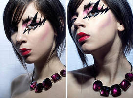 porcelain diptych by Never-let-me-go