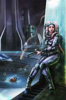Twi'lek Assassin by InmortalKhan