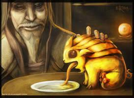 The Golden Companion by InmortalKhan
