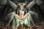 Demon Queen of Spiders by InmortalKhan