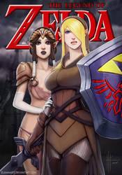 Legend of Zelda Fanart by InmortalKhan