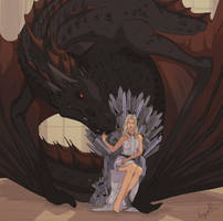 Daenerys by knk1